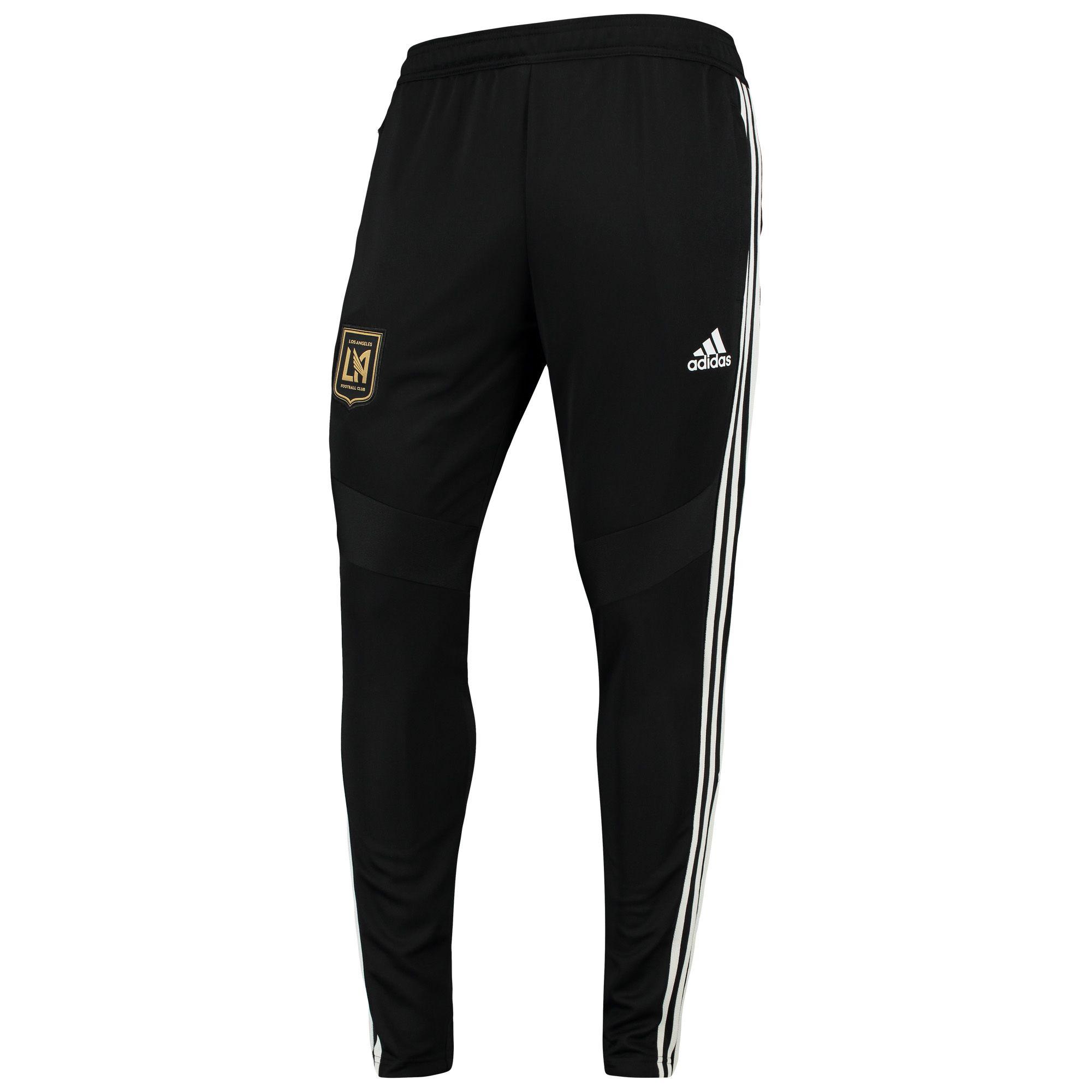 brand new a78f2 16b65 MLS Men's adidas Black LAFC Team Logo climacool Training ...