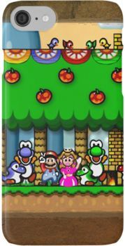 Super Mario World iPhone 7 Cases