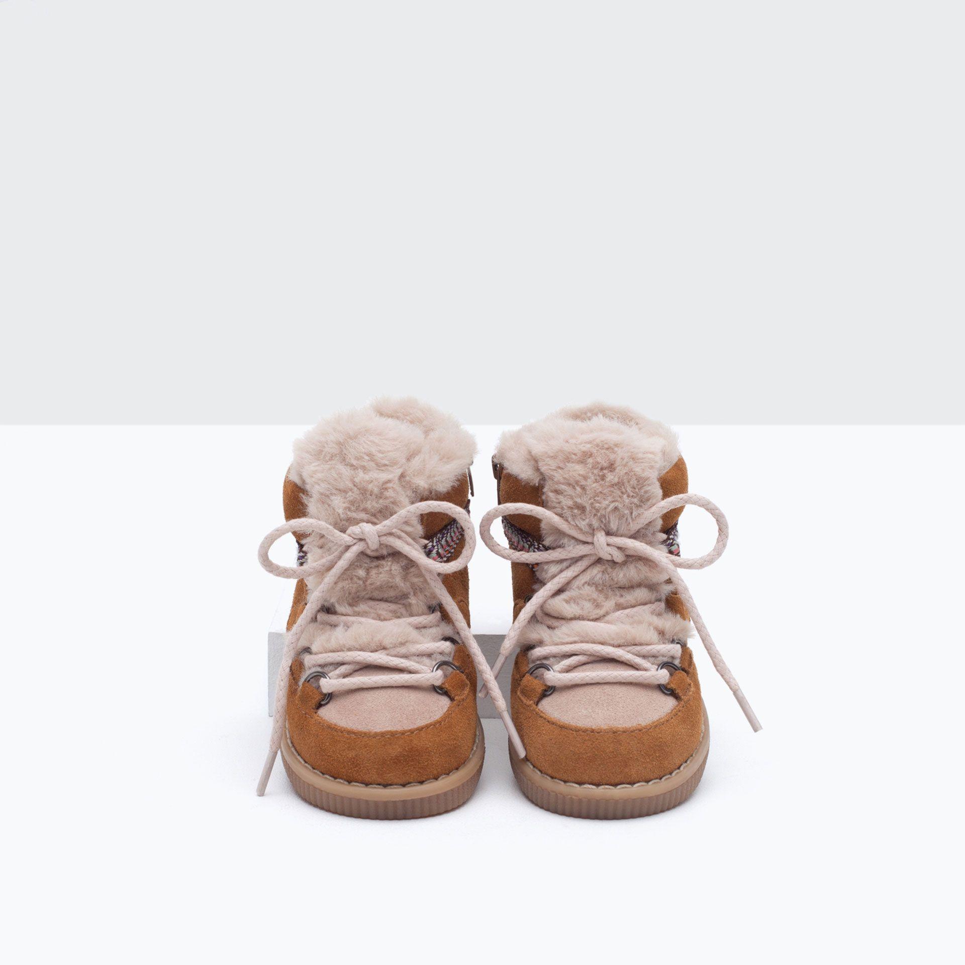 Skorzane Botki Trekkingowe Niemowle Dziewczynka Nowosci Cute Baby Shoes Boots Baby Girl Shoes
