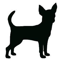 Little Black Dog Clip Art