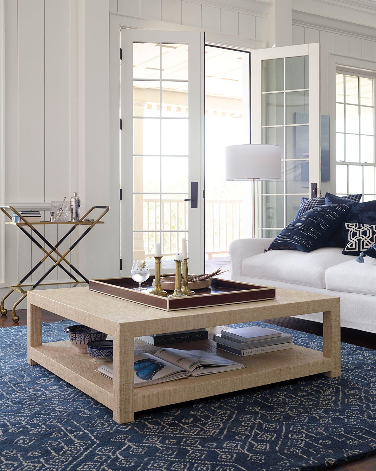 Blake Raffia Square Coffee Table Tb Acc199 02 Home Furniture