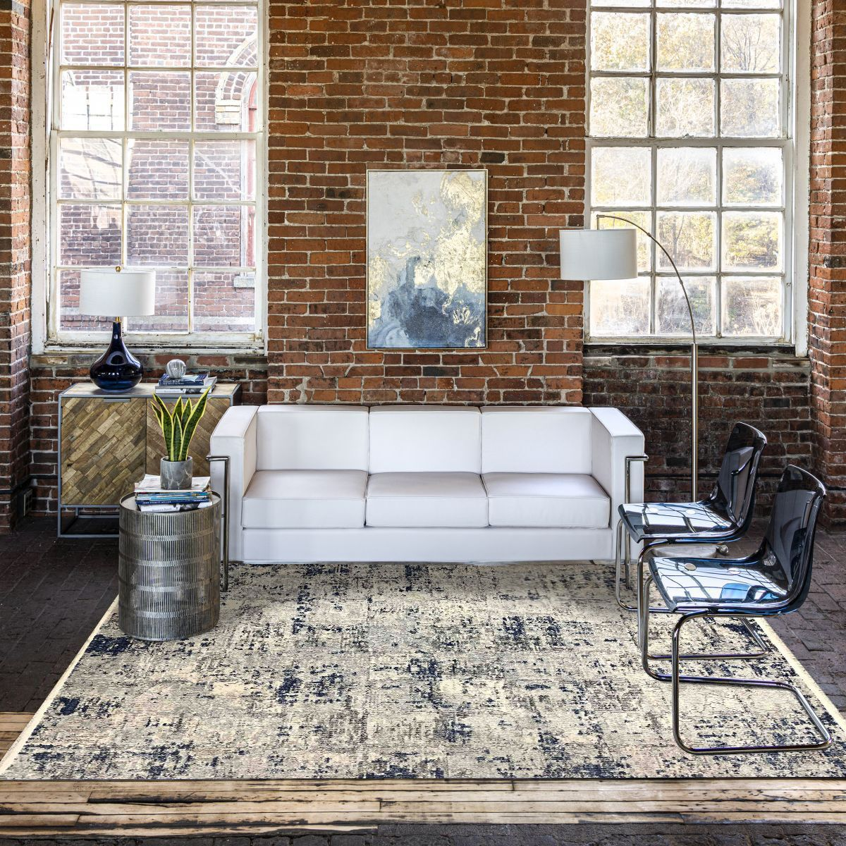 سجاد سمفونيتا أزرق ورصاصي Persian Rug Living Room Light Blue Rug Home Living Room