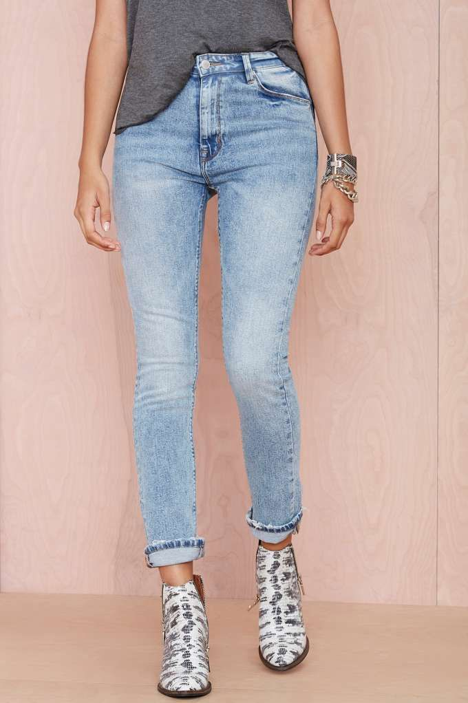 RES Denim Wanda High-Waist Jean | Shop What's New at Nasty Gal