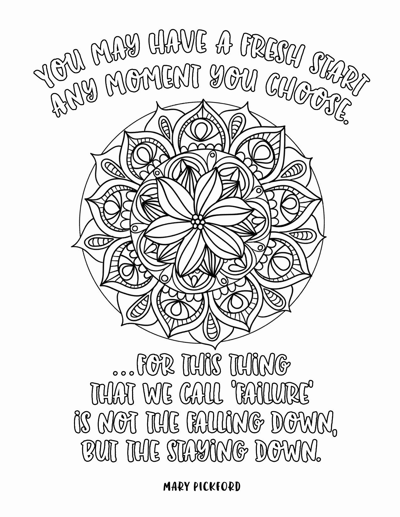 Disney Quote Coloring Pages New Mandala Coloring Pages Disney Quotes Coloring Pages Quote Coloring Pages Coloring Pages For Grown Ups Mandala Coloring Pages