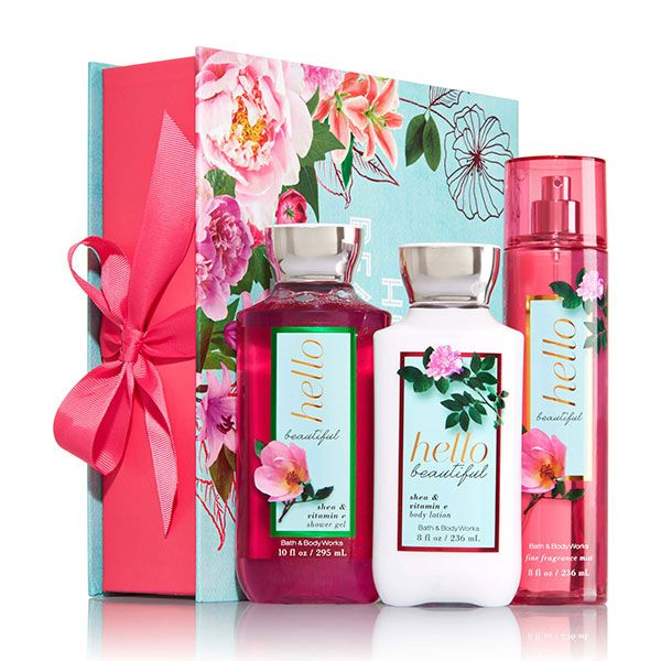 Bath and body works gift set hello beautiful christmas gifts from do it yourself gift sets to pre packaged gift baskets we have the perfect gift for her no matter the occasion solutioingenieria Gallery