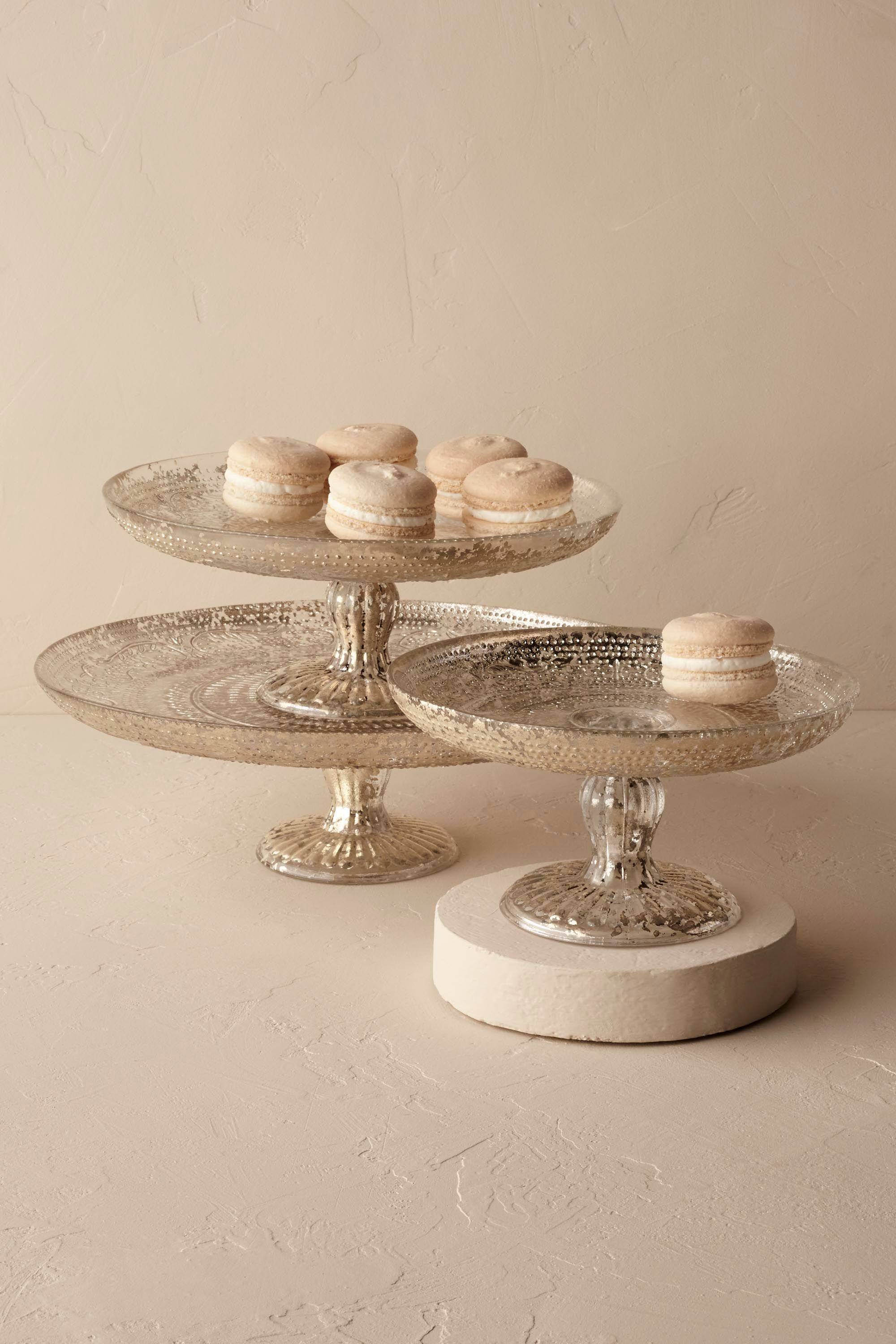 Antiquitarian cake stand from bhldn amore decor full planning