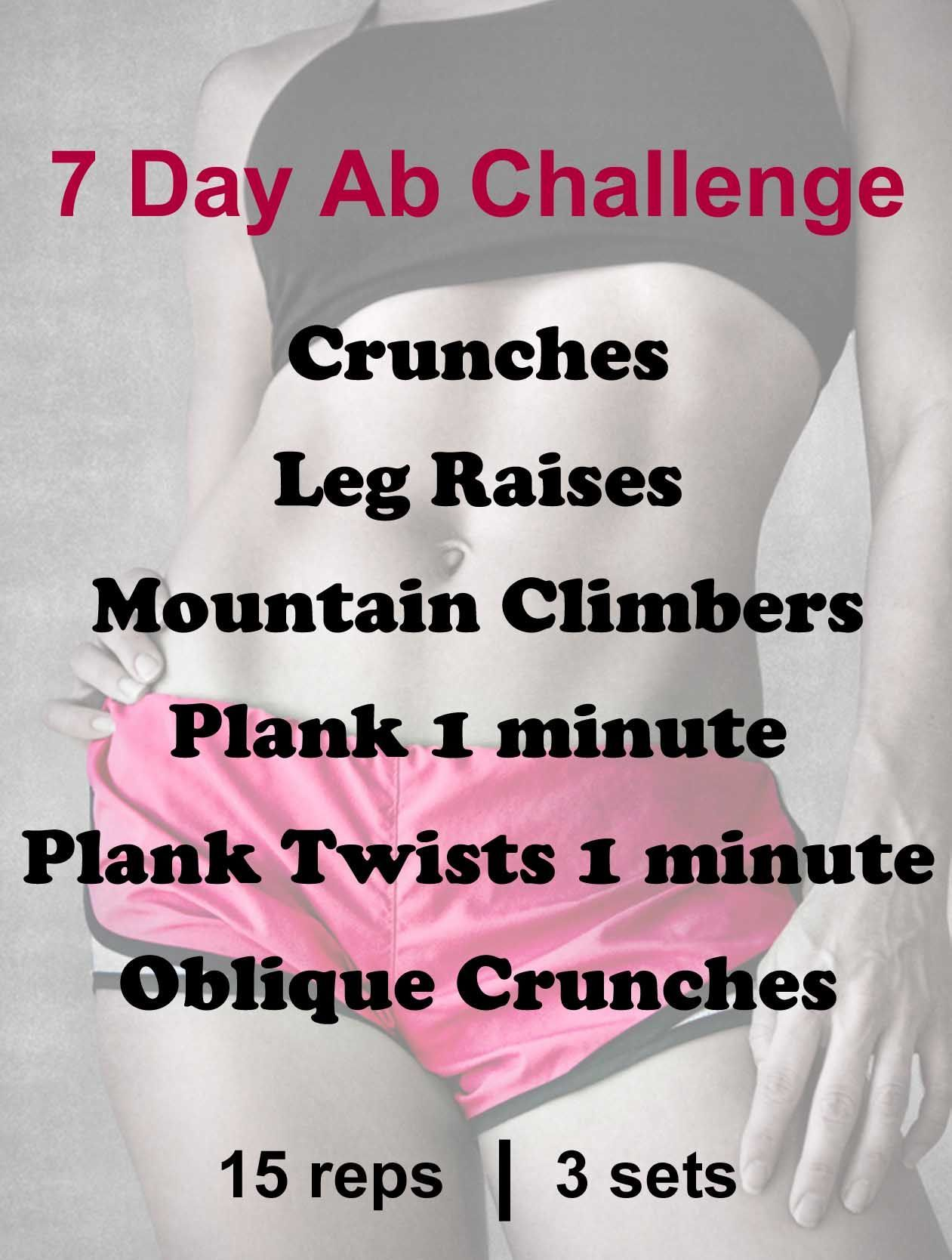 How To Get Rock Hard Abs In 30 Days