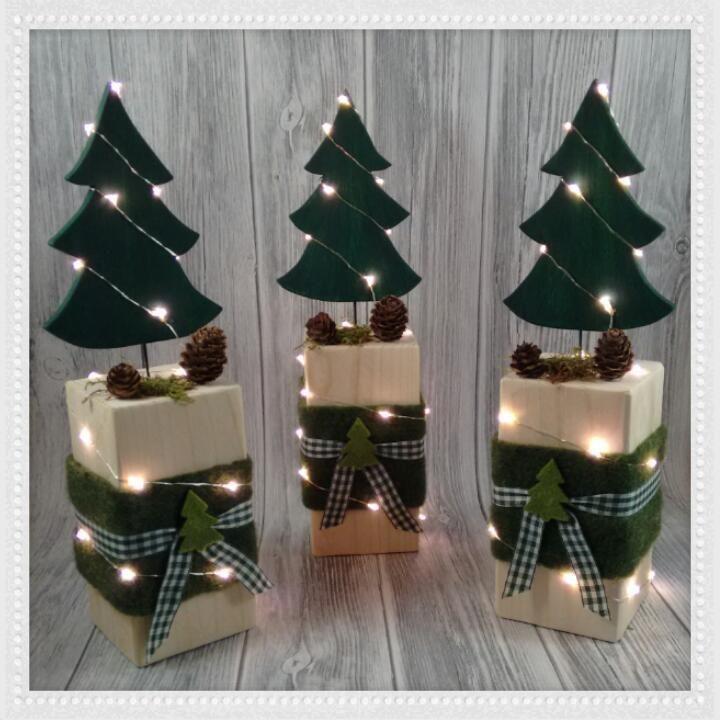 Allerlei Kreatives aus Holz, Stoff, Serviettentechnik, Papier, Perlen und vieles... #weihnachtsdeko2019trend
