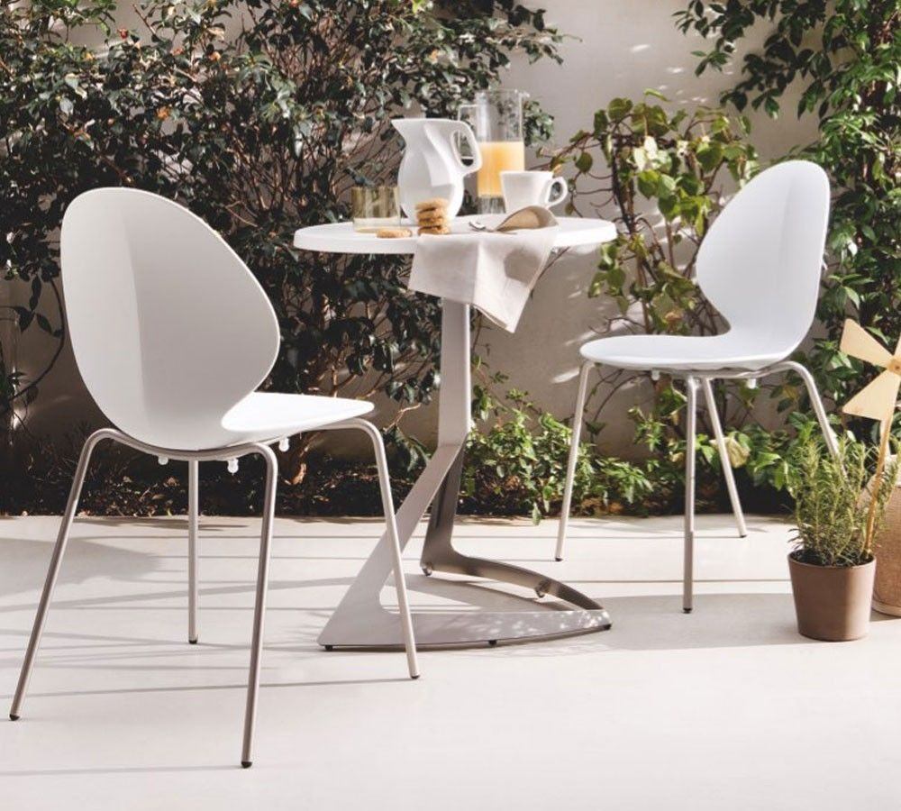 Outdoor Furniture Image By Artinterijeri Contemporary Dining Chairs Calligaris Metal Chairs