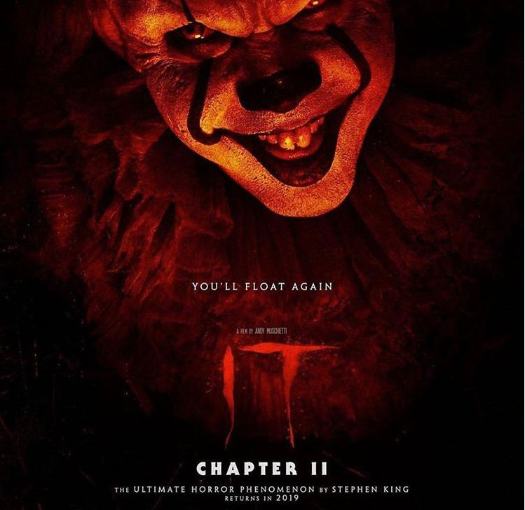It Chapter 2 Fan Made Poster Chapter Horror Horror Movie Art