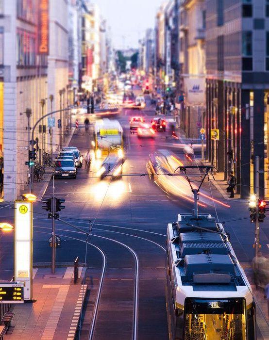 Friedrichstrasse, a main street in Berlin