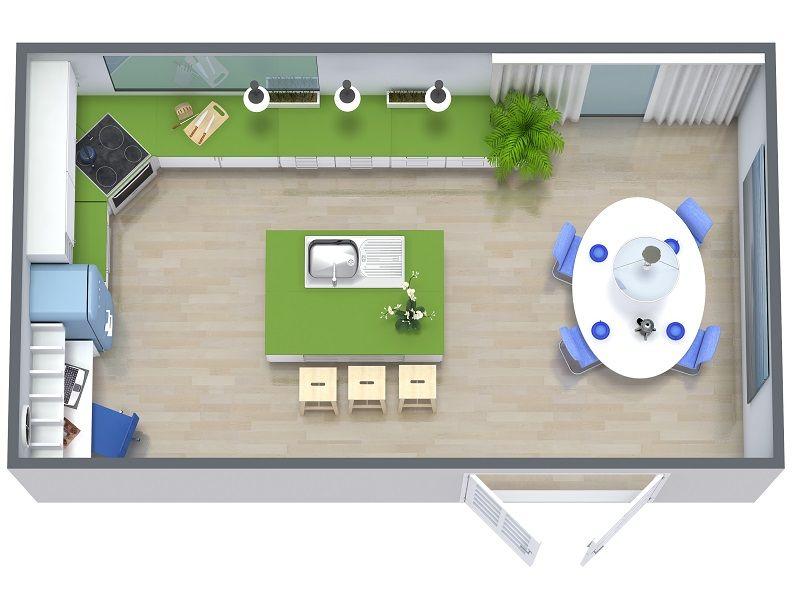 Roomsketcher Kitchen Remodel Floor Plan 800x600