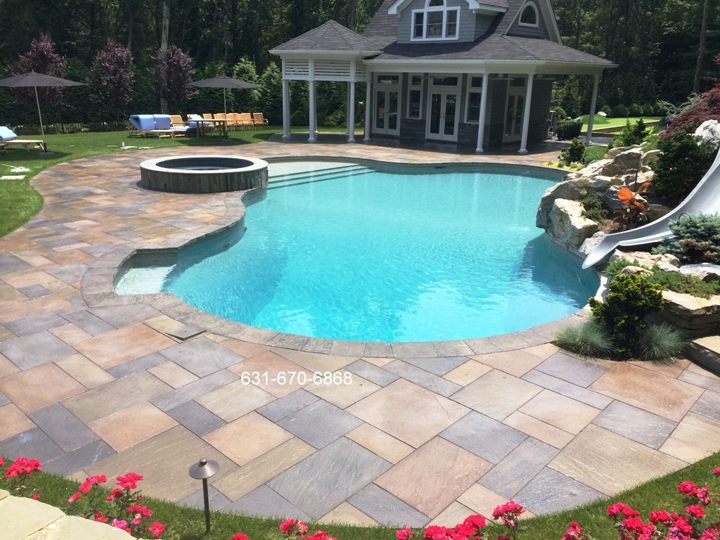 Pool patio cleaning and sealing Head of the Harbor Stony