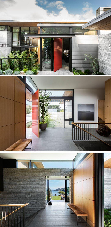 Erstaunlich Moderne Häuser Innen Beste Wahl Holz Und Außen - Modernes An Der