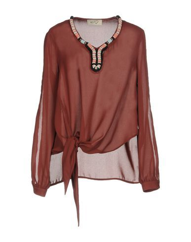 KI6? WHO ARE YOU? Women's Blouse Maroon 6 US