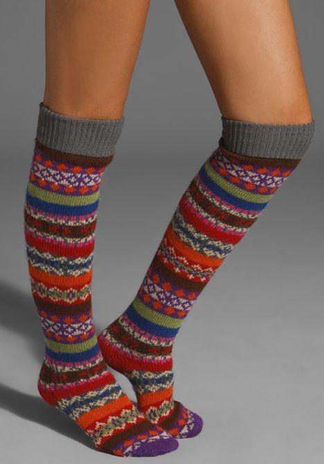 I love knee high socks