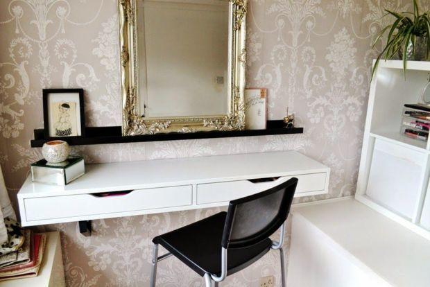 how to create a vanity in your tiny apartment Vanities, Bedrooms