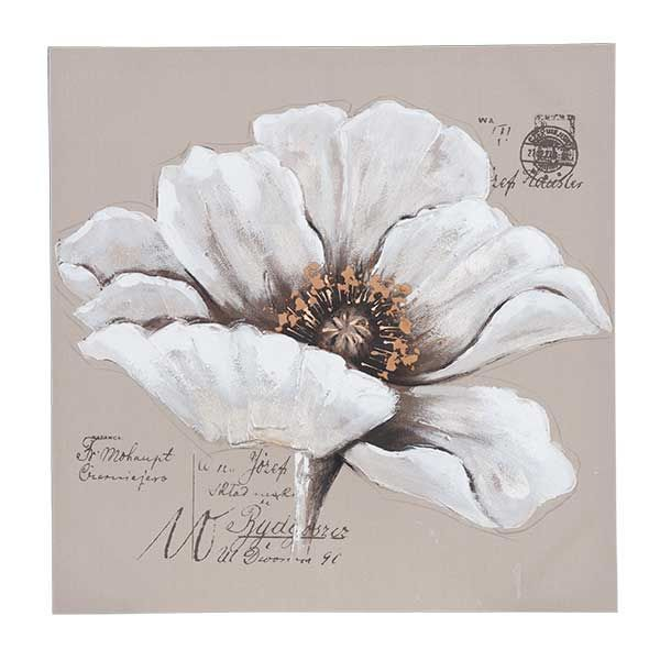 40 X Painting White Flower
