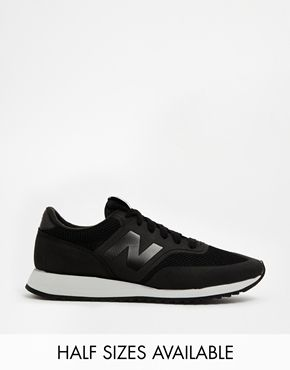 new balance 620 black trainers