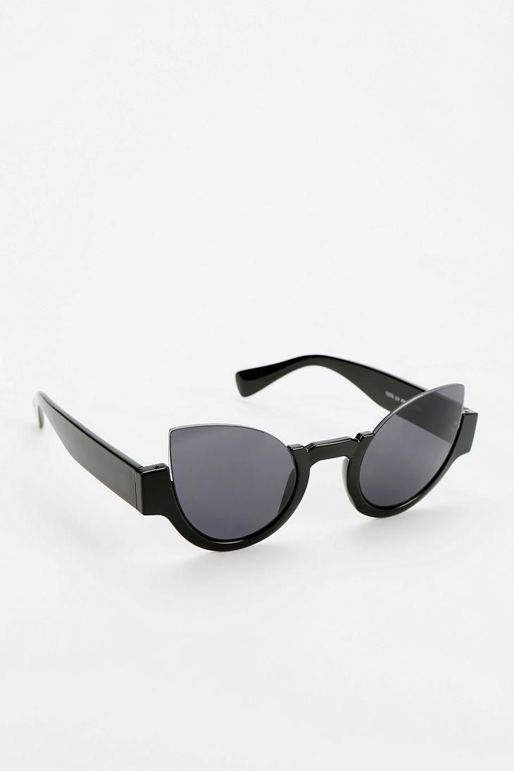 2ef4d85749 Topless Cat-Eye Sunglasses Online Only