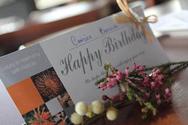 {FEAT. BLOG POST} Celebrating at Grootbos - Candice Bresler #Birthday #Celebrations #Travel http://www.grootbos.com/en/blog/travel/celebrating-at-grootbos