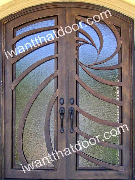 Nova Double Iron Door