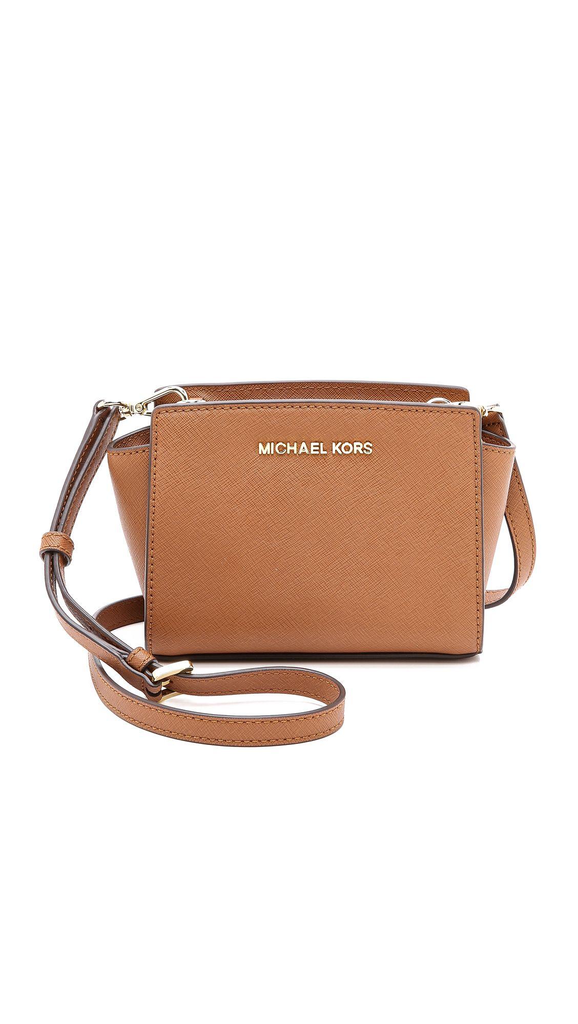 f72b2afdd9 Michael Michael Kors Selma Mini Messenger Bag - Luggage | SHOPBOP.COM saved  by #ShoppingIS