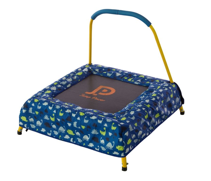 30 x 30 square toddlerkids minitrampoline with safety