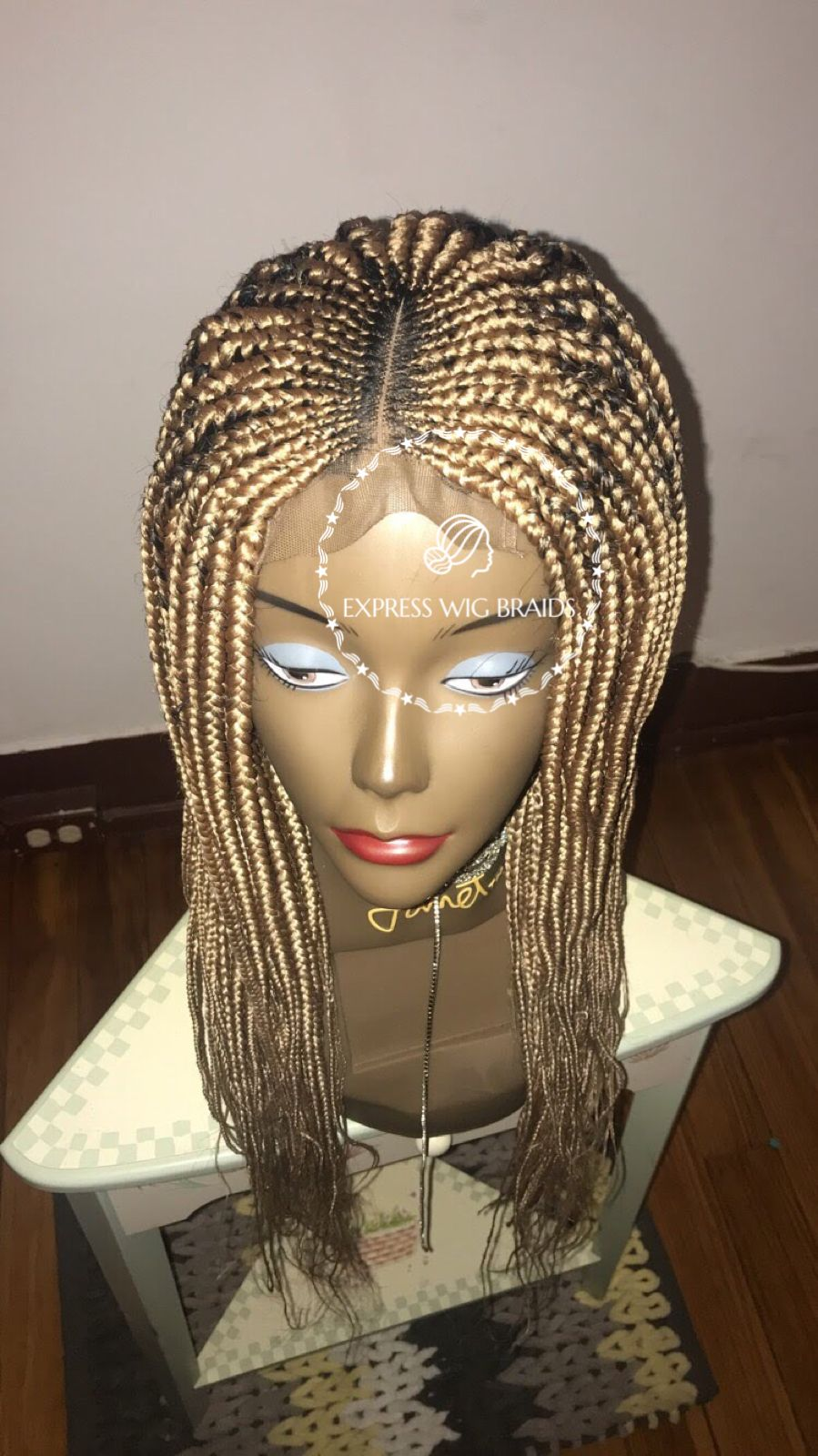 Shop handmade braided wigs made with virgin lace material and