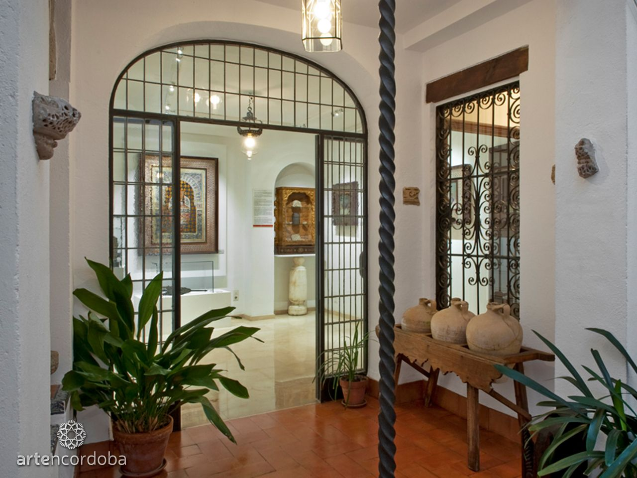 Córdoba༺♥༻Casa Museo Arte sobre Piel de Historia, salas, obras singulares,