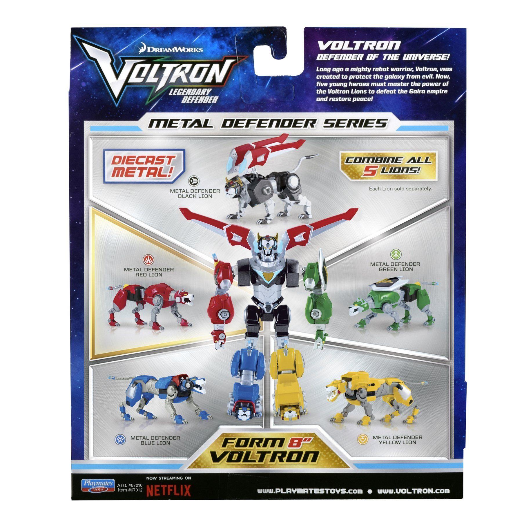 Voltron Black Lion Die Cast Action Figure