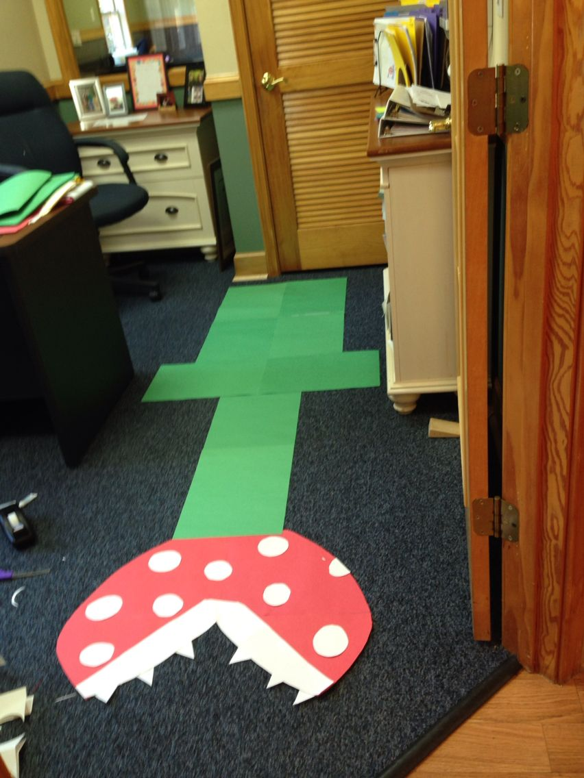 mario cart theme wii themed birthday party decoration ideas made from only construction paper