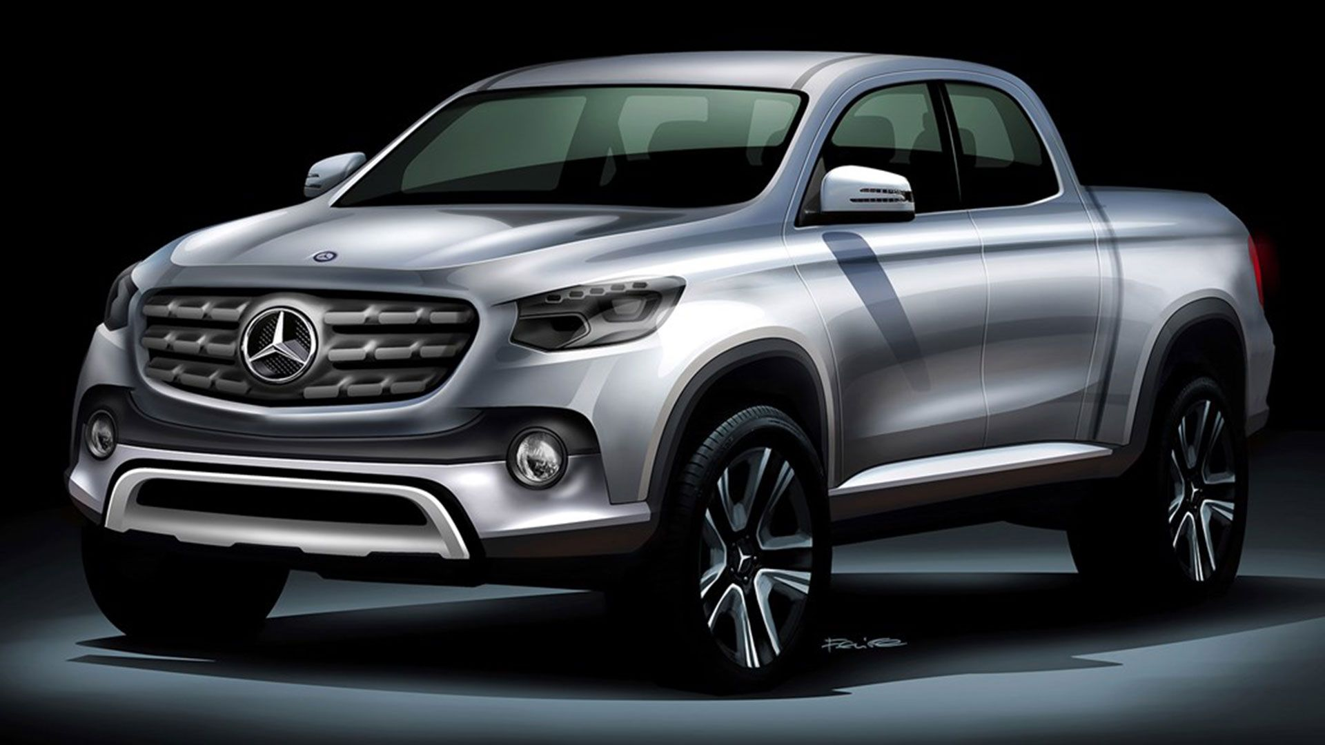 Mercedes Benz Pickup Benz Pinterest