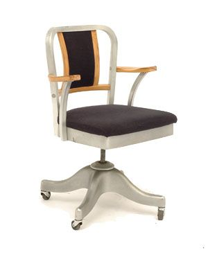 Delightful Metal Office Chair