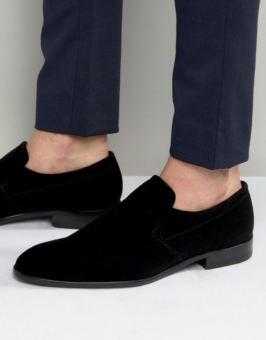 hugo boss mens loafers