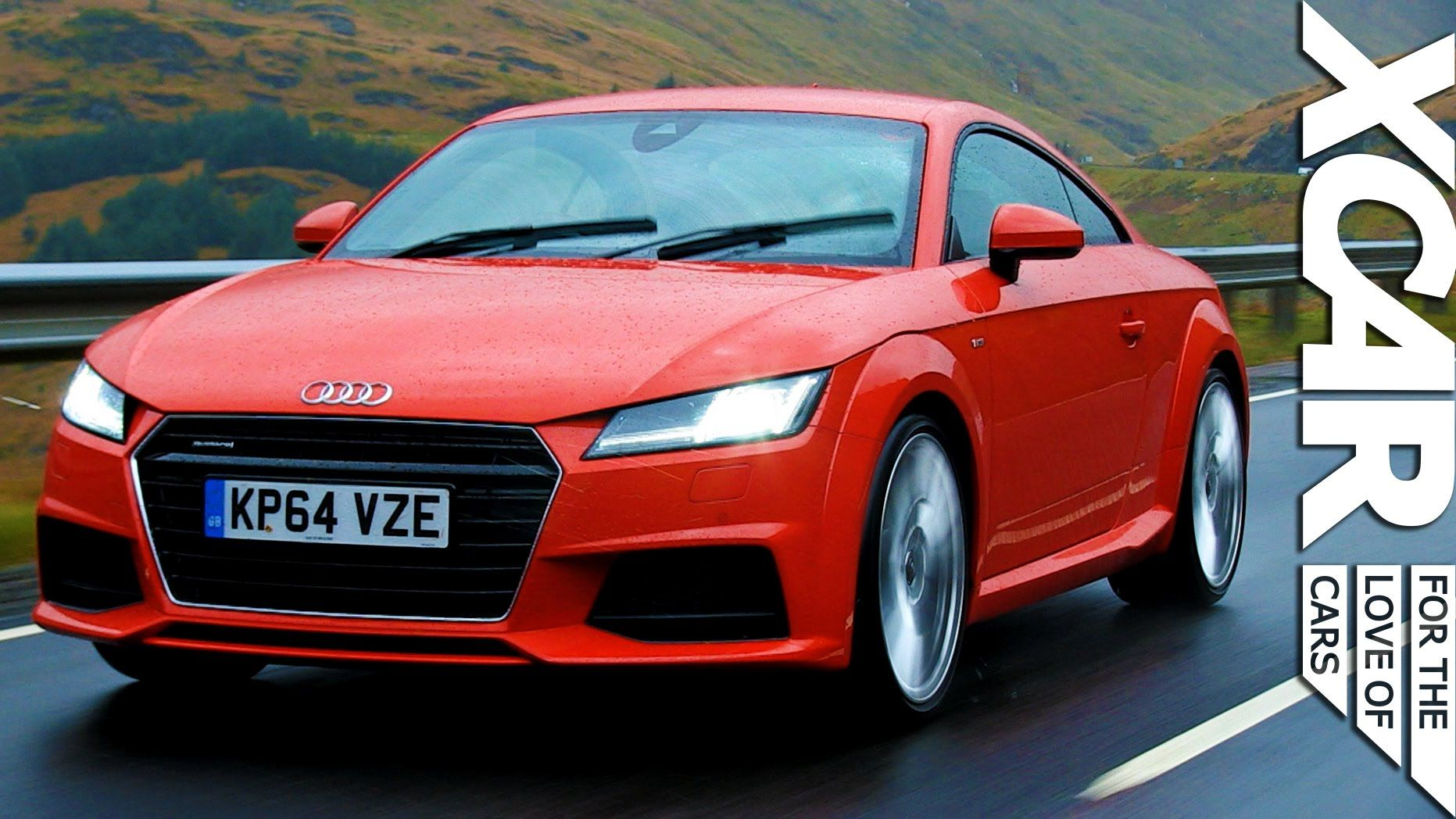 2015 Audi TT Slick Fast Sharp [XCAR] Over the