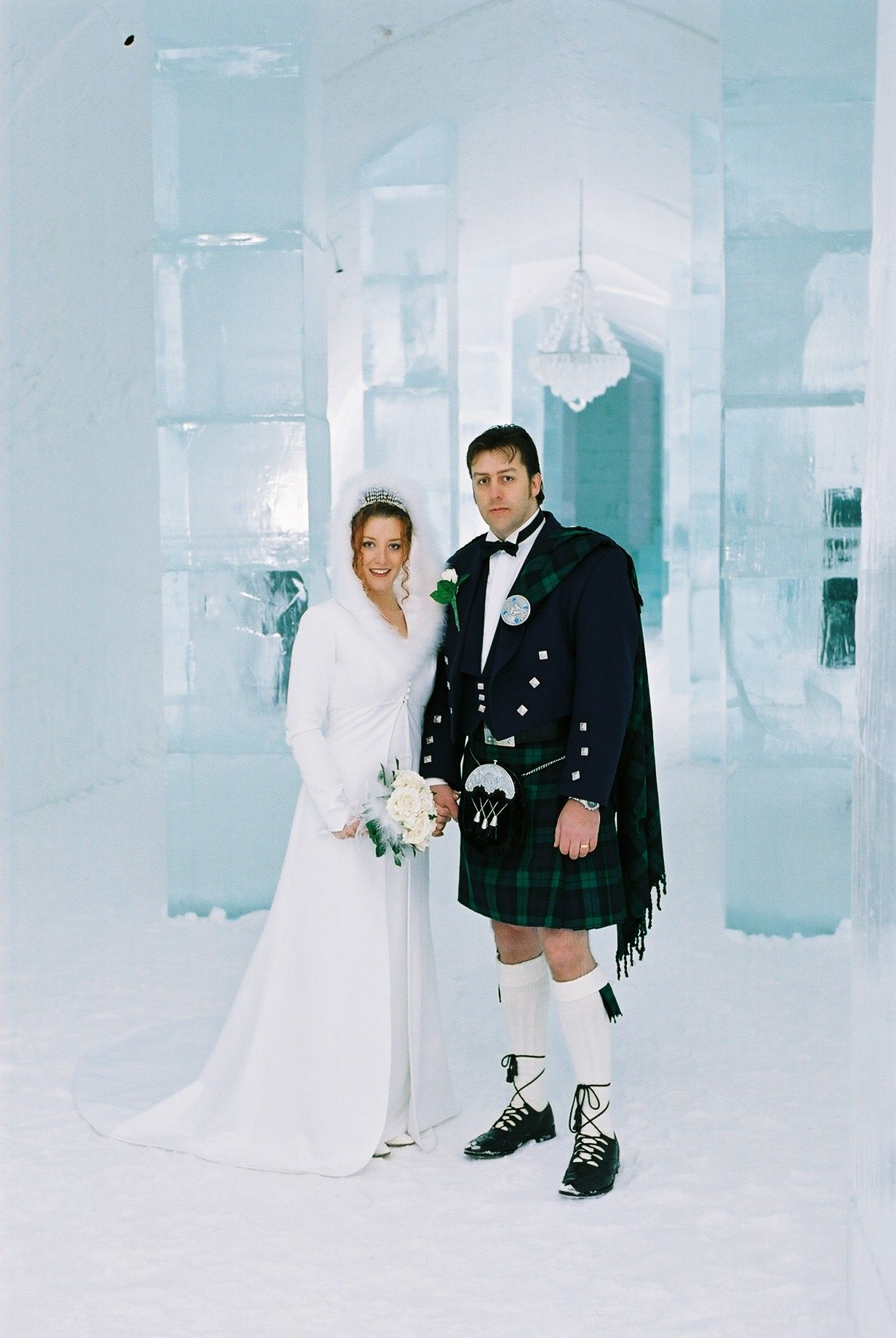 Ice Hotel Wedding Midway Media