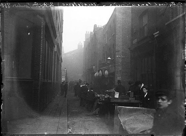 Chusseau_belllane Sandys Row and Frying Pan Alley
