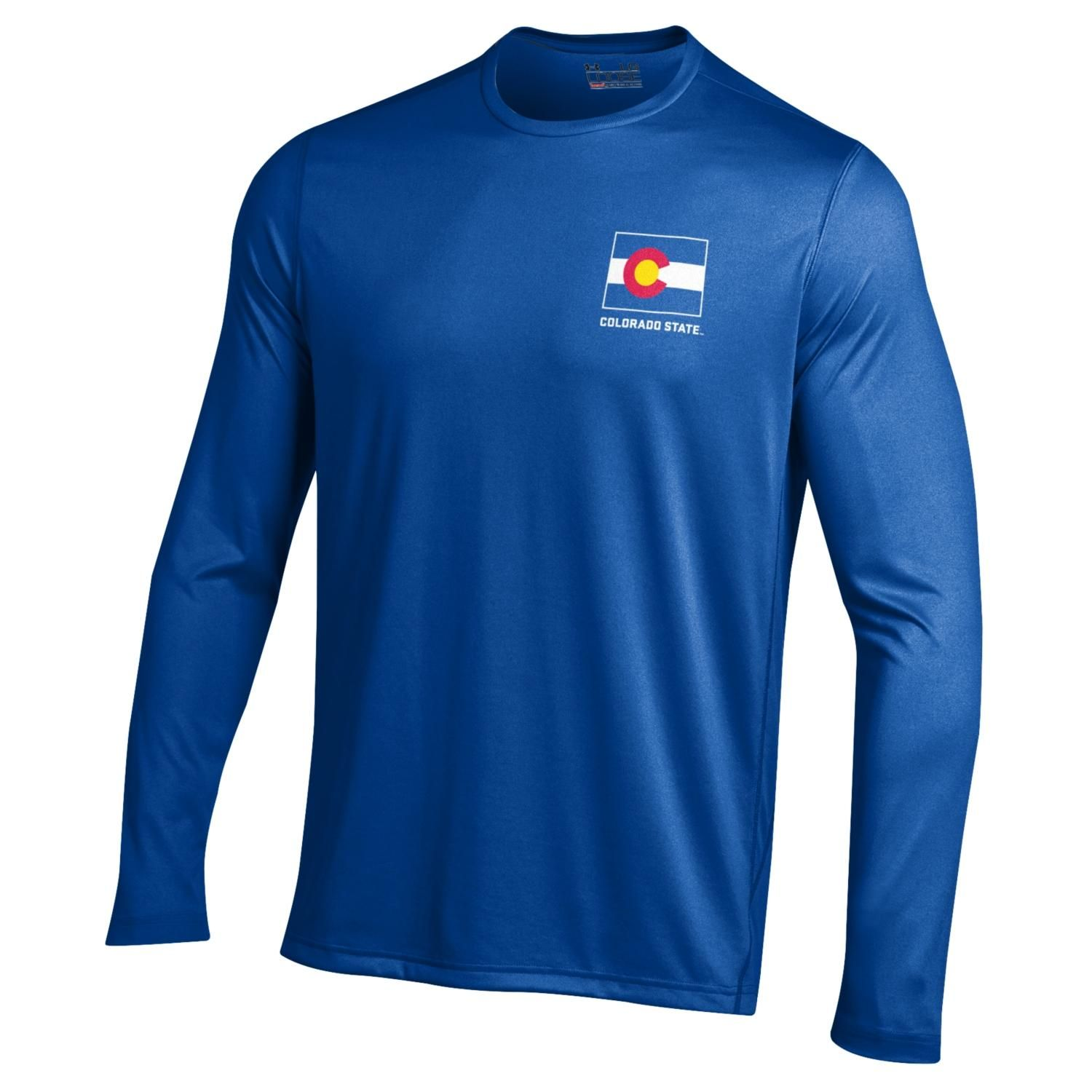 This royal blue Colorado State Pride long sleeve is