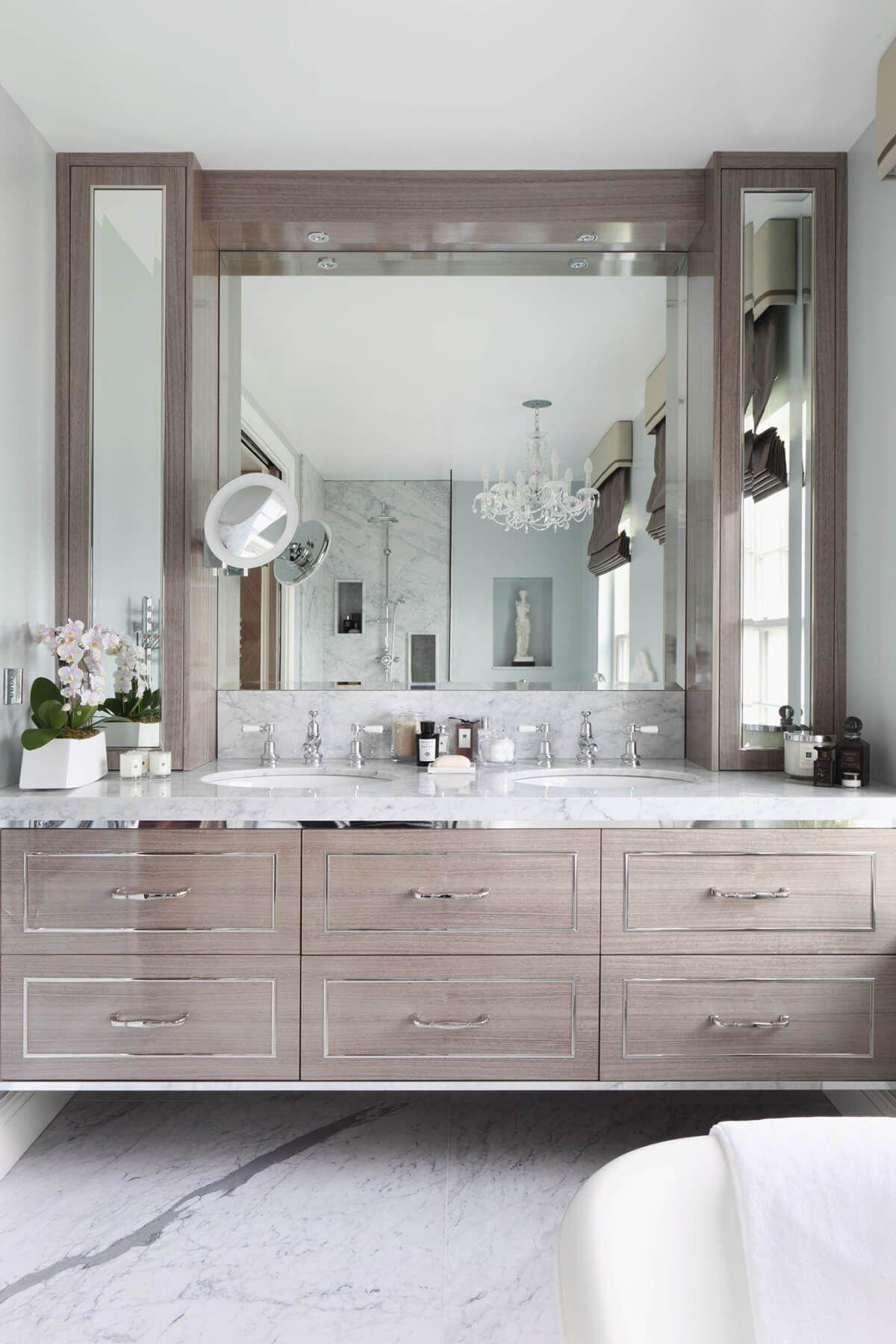 32 Rustic To Ultra Modern Master Bathroom Ideas To Inspire Your Next Renovation Luks Banyolar Guzel Banyolar Ic Mekan Fikirleri