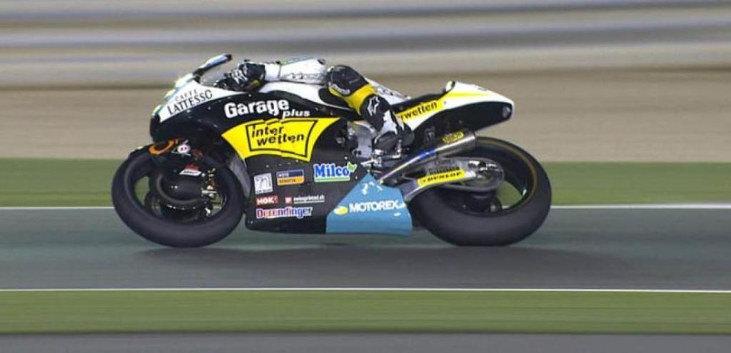 Moto2   GP Qatar: vince Luthi, Morbidelli beffato