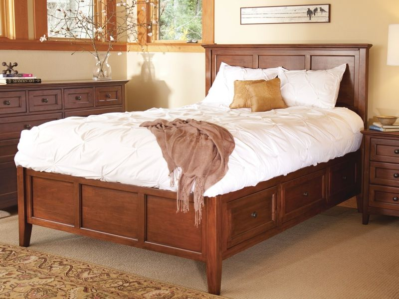 McKenzie Storage Bed by Whittier Wood in Eugene OR