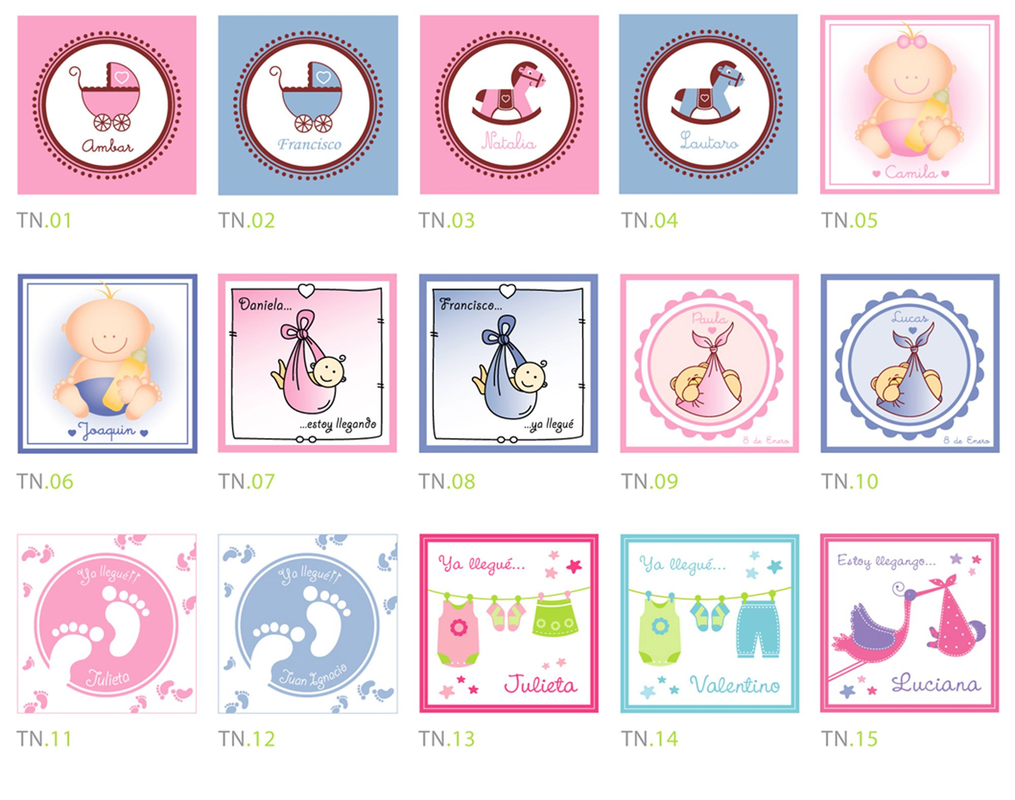 Tarjetas de souvenir de nacimiento para imprimir gratis - Imagui ...