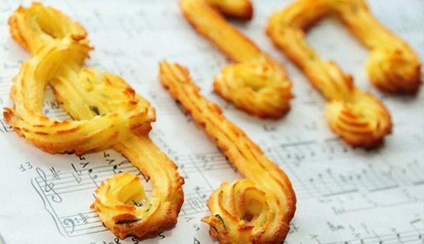 Figuritas de patatas duquesa al queso