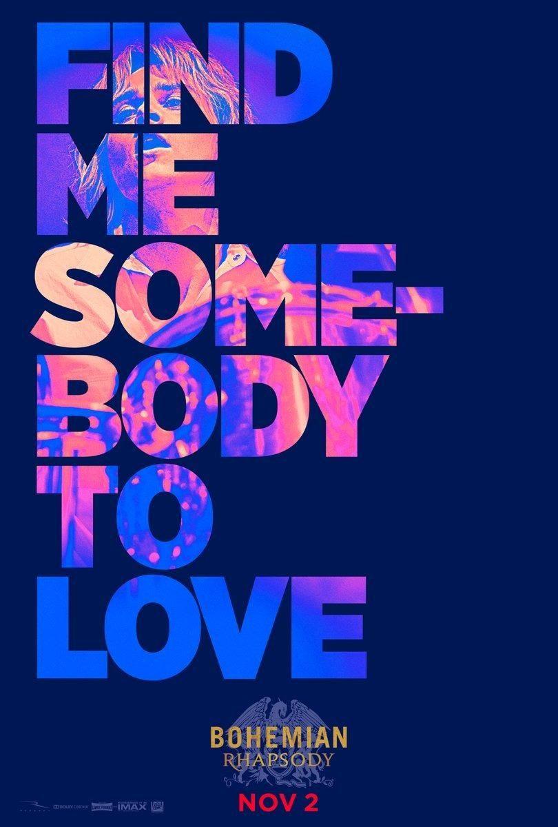hier gibt s neue poster zum biopic bohemian rhapsody uber queen sanger freddie mercury
