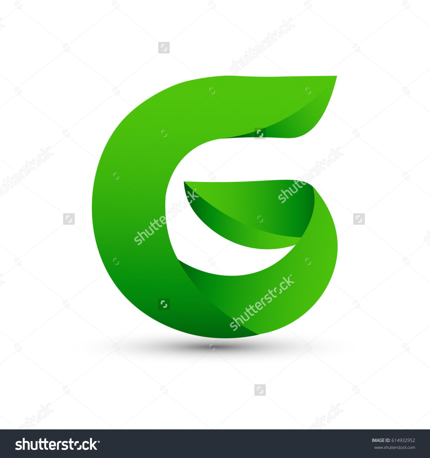 Letter g icon and logo template elegant typographic with twisted letter g icon and logo template elegant typographic with twisted green spiritdancerdesigns Choice Image