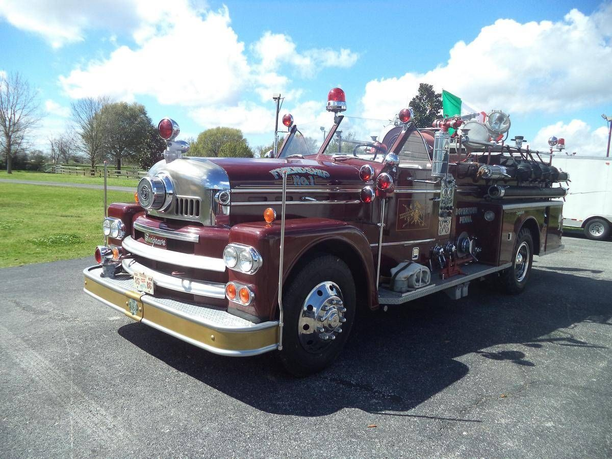 1966 Seagrave Fire Truck https://www.hemmings.com/classifieds/cars ...