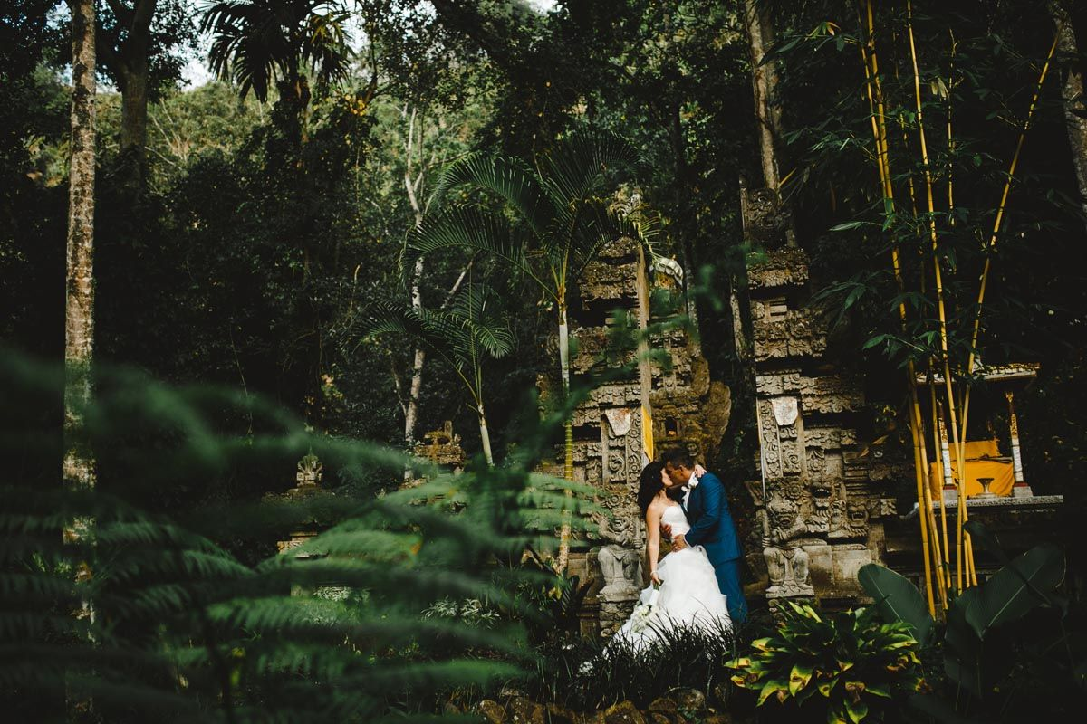 One of the Temple's nestled amongst the grounds of The Royal Pita Maha. The most amazing photo location for the bride and groom #weddinginspiration