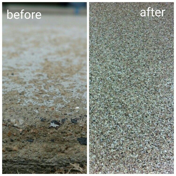 ReService Garage Armor floor resurfacing in Decorative Flake