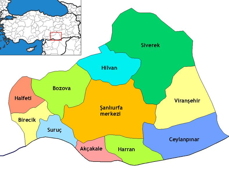 File Sanliurfa Districts Png 2020 Sehir Rehber Batman